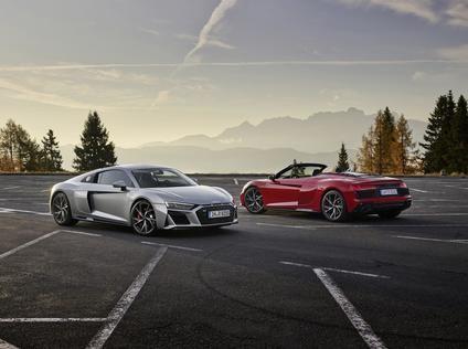 Audi R8 V10 RWD y Audi R8 LMS GT4: aún más deportivos