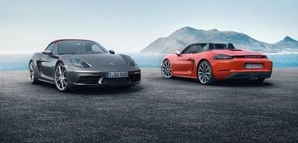 Nuevos Porsche 718 Boxter y 718 Boxster S
