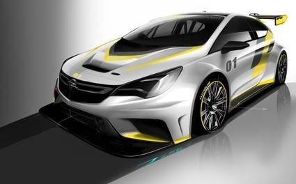 Opel Astra TCR, para pilotos privados