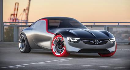 Opel presenta el innovador Concept GT