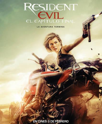 La BMW S 1000 XR en Resident Evil: El Capítulo Final.