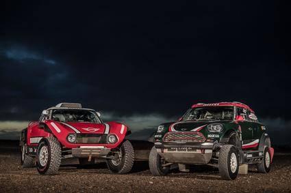 Mini va al Dakar con dos vehículos: John Cooper Works Rally y John Cooper Works Buggy