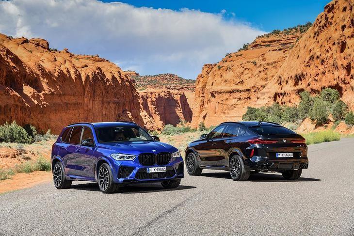 Se desvela la tercera generación de los BMW X5 M y BMW X5 M Competition, y BMW X6 M y BMW X6 M Competition.