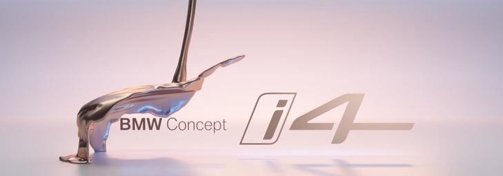 BMW Concept i4 eléctrico 100%