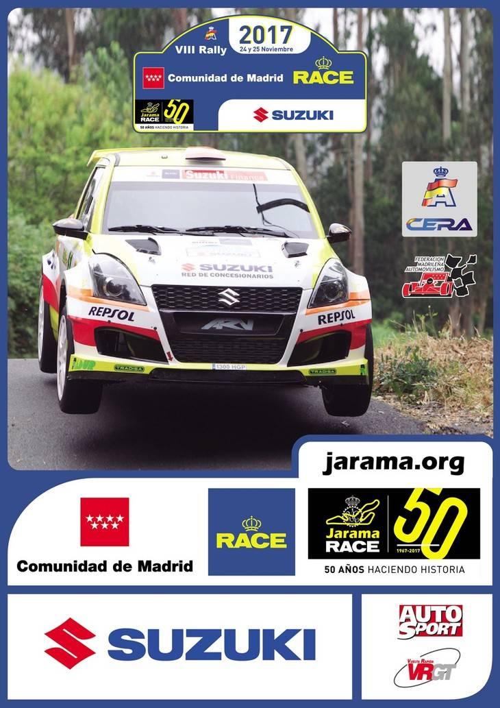 Tramos y horarios del Rally Race