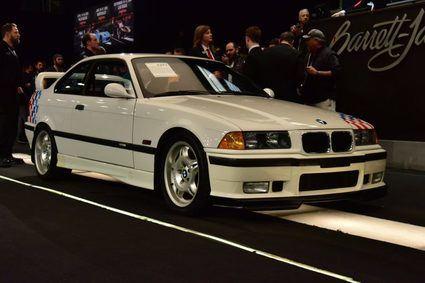 Cinco BMW E36 M3 Lightweight del fallecido actor Paul Walker subastados
