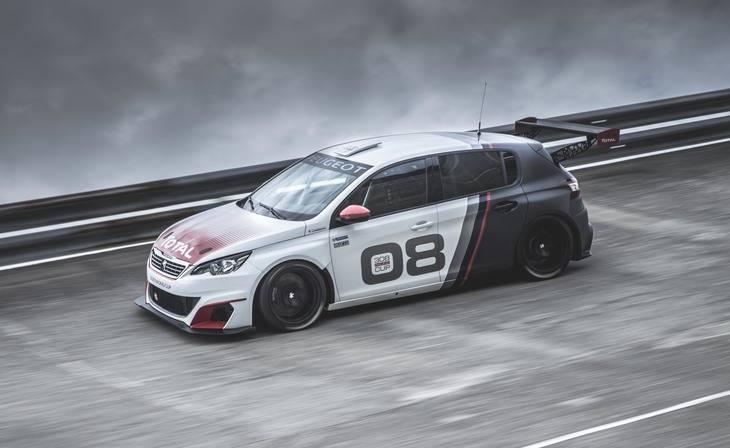 Peugeot 308 Racing Cup la versión más radical