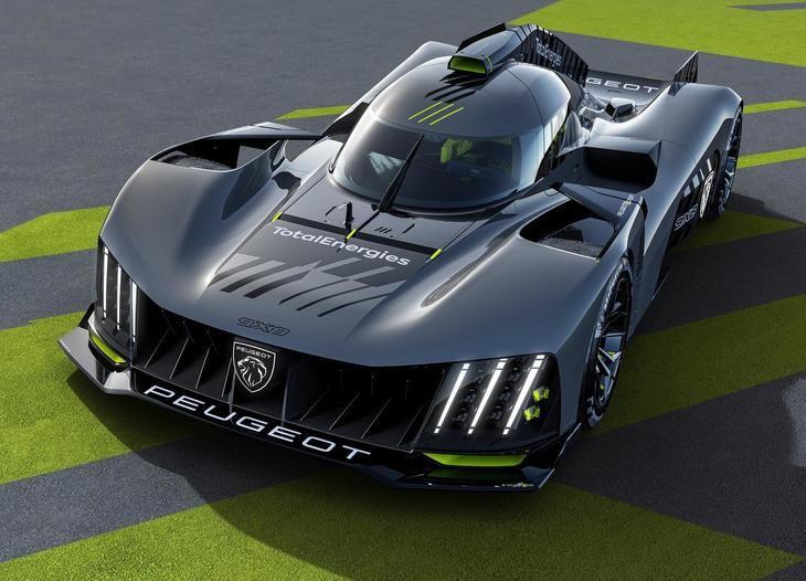 Peugeot 9X8, el nuevo coche de Resistencia de la marca del León