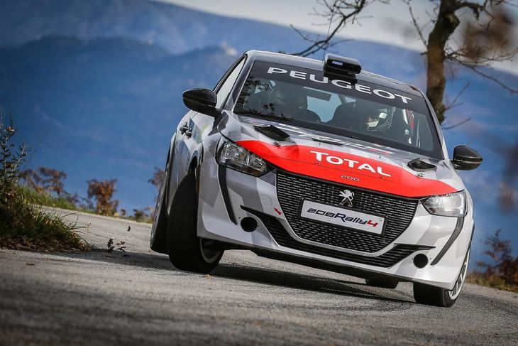 Peugeot 208 Rally 4 para la Peugeot Rally Cup Ibérica