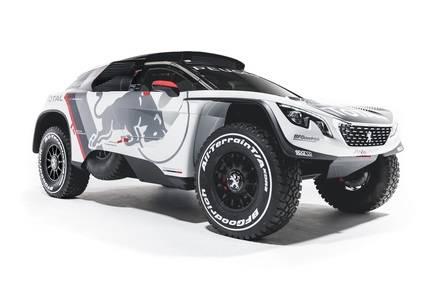 El nuevo Peugeot 3008 DKR se prepara para ganar