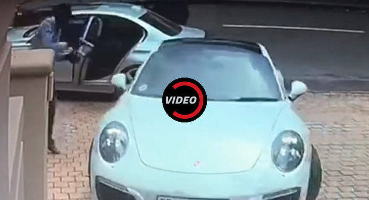 Intento de robo de un Porsche 911 Targa y huida