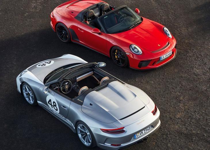 El nuevo 911 Speedster entra en producción