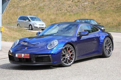 Primeras fotos del nuevo Porsche 911