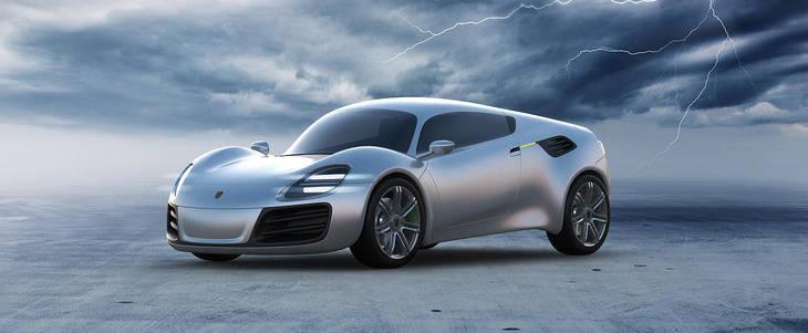 Porsche 356e Sports Coupé Concept
