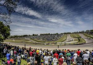 Ekstrom y Audi se despiden del circuito Lydden Hill