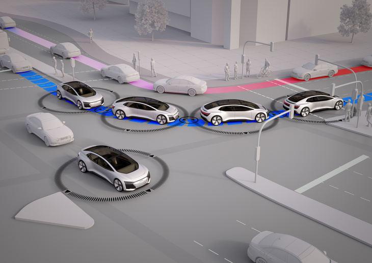 La ciudad del futuro sin atascos según Audi