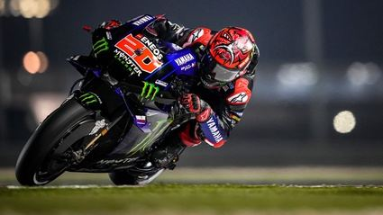 Fabio Quartararo, pole en el Gran Premio de Tahilandia
