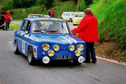 Cuatro R8 Gordini inscritos