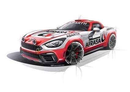 Un Abarth 124 Rally competirá en 2017