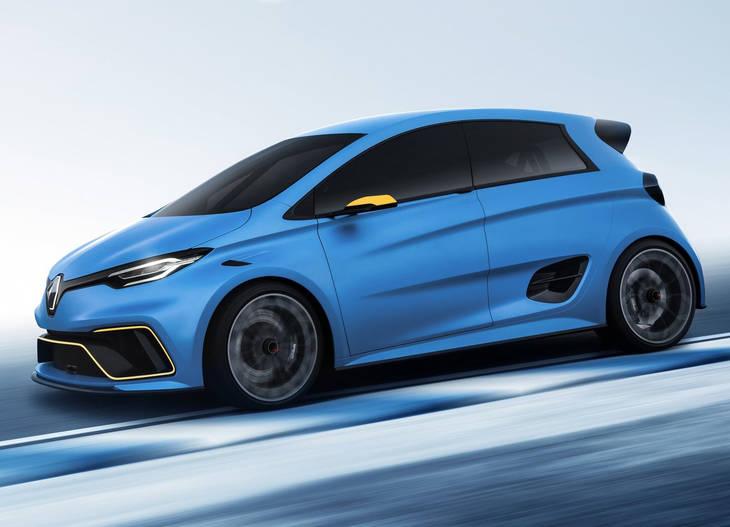 Renault ZOE e-Sport Concept, el ZOE de carreras
