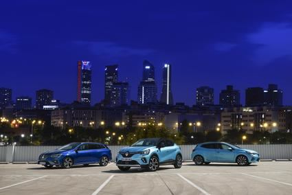 Renault presenta su gama E-TECH, Híbrida e Híbrida Enchufable