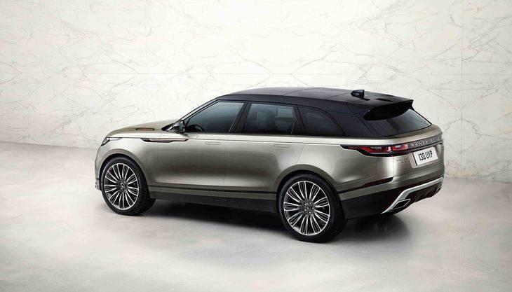 Motor de gasolina de 300 CV para el Range Rover Velar
