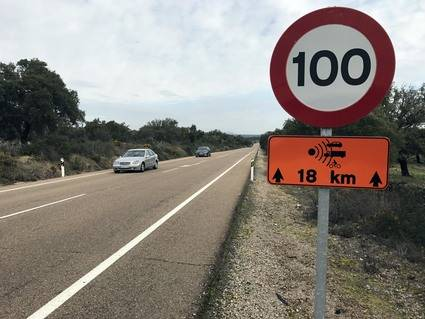 Nuevo aviso de vigilancia de Radar por tramo