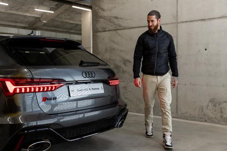Audi entrega los coches a los jugadores del Real Madrid