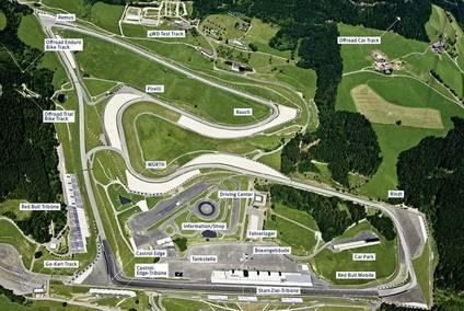 GP de Austria, circuito, neumáticos y horarios