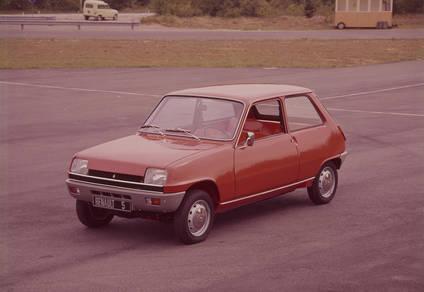 Renault 5. A�o 1972