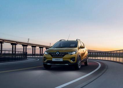 Renault Triber un SUV pequeño de 7 plazas