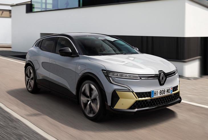 Renault Mégane E-Tech eléctric, el crossover francés más eficiente