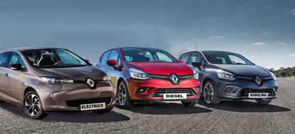 Renault ZOE, frente a los Renault Clio (gasolina y diésel)