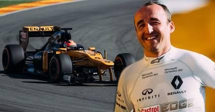 Kubica estará con Renault y se prepara para volver