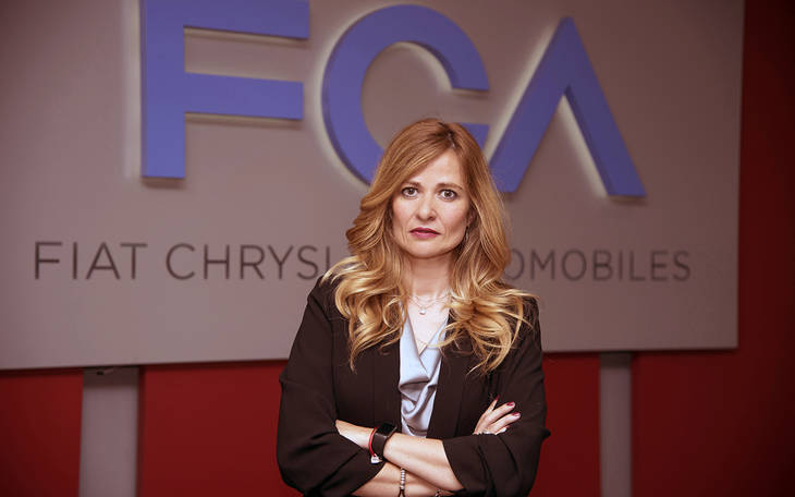 Rosa Caniego, responsable de comunicación del Grupo Fiat Chrysler en España
