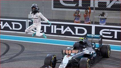 Rosberg, feliz con su pole en brásil