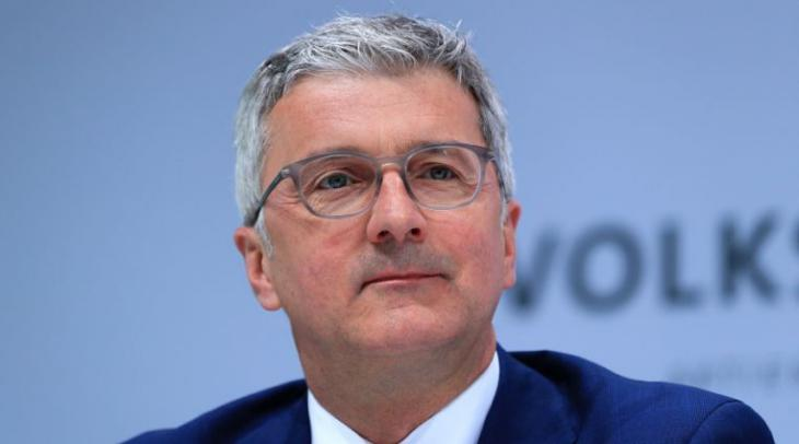 El Presidente de Audi, Rupert Stadler, sale de la carcel