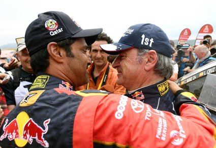 Carlos Sainz (padre) gana su segundo Dakar