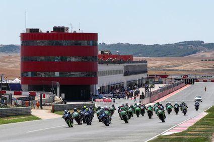 Gran arranque del ESBK en el Circuito de Navarra