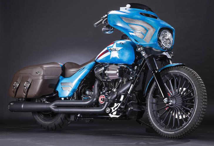 Harley-Davidson la moto de los superhéroes