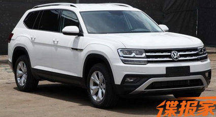 El Volkswagen Teramont se llamará Atlas