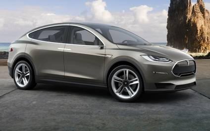 Tesla modelo X, el 'crossOver' eléctrico