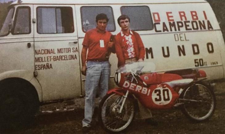 Tomas Díaz Valdes  y Nieto en ese día histórico