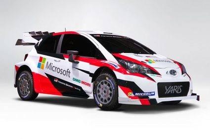 Toyota Yaris WRC en los Alpes