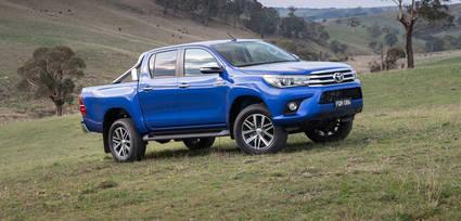 Primeras imágenes del Toyota Hilux
