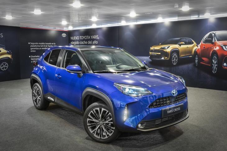 El nuevo Toyota Yaris Cross estará a la venta a final de año