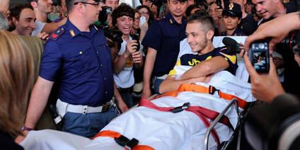 Rossi: 'Me gustaría volver para Aragón, de lo contrario lo haré en Japón'