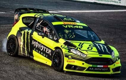 Rossi gana a Sordo en el Rally Show de Monza