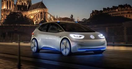 El I.D. el primer Volkswagen el�ctrico con una autonomia de 400 a 600 kms