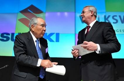 Se rompe el acuerdo Volkswagen-Suzuki